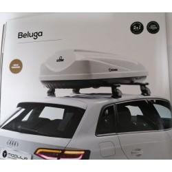 Box Baule Portautto Modula Beluga Lt 460. Bianco Lucido